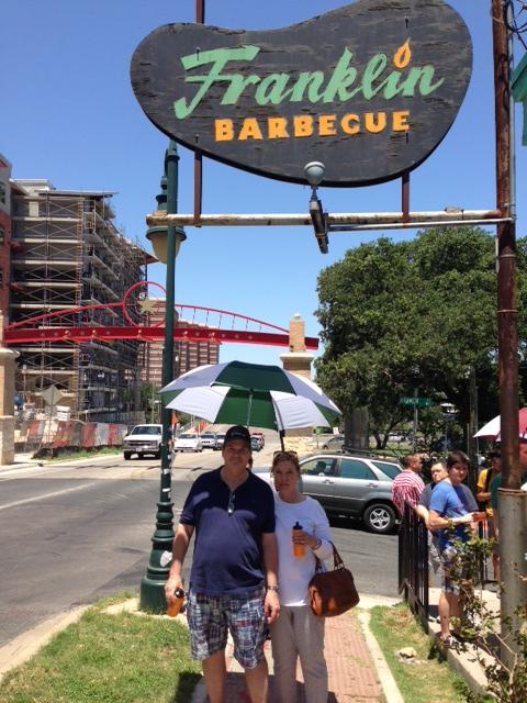 Franklin Barbecue in Austin, Texas